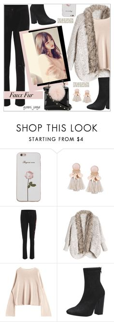 """""""Wow Factor: Faux Fur"""" by goreti on Polyvore featuring Les Petits Joueurs"""