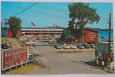 Alexandria Bay NY View of Captain Thompson's Motor Lodge
