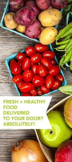 Find out here how you can get fresh and local produce delivered to your doorstep!