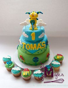 torta-y-cups-henry-monster