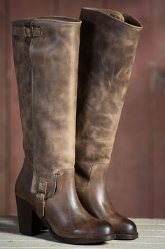 Women's Ariat Gold Coast Tall Leather Boots by Overland Sheepskin Co. (style 58026)