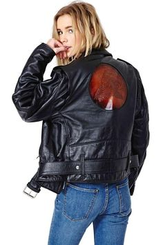 Leather Jacket Will Embrace Your Character  #blackjacket #riderjacket #leather