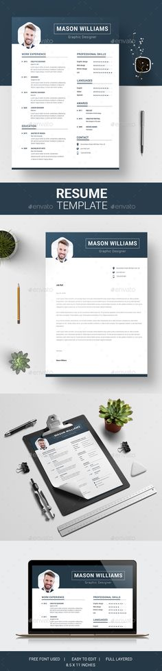 #Resume - Resumes Stationery Download here: https://graphicriver.net/item/resume/19263121?ref=alena994