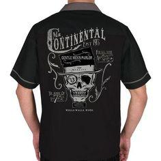 Mr. Continental Bowling Shirt