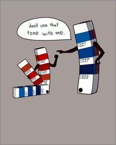For my fellow graphic designers.a little Pantone humor!