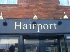 Seriously what is this trend? | 19 Amazingly Punny Salon Names …