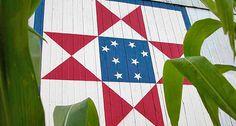 Ohio Star Barn Quilt, Miami County, Ohio