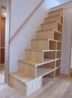 Trendy home library bookshelves attic spaces 22 Ideas Attic Stairs, House Stairs, Small Space Staircase, Attic Floor, Attic Renovation, Attic Remodel, Closet Remodel, Exterior Stairs, Diy Exterior