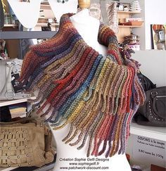Crochet Capelet - similar to one of my designs