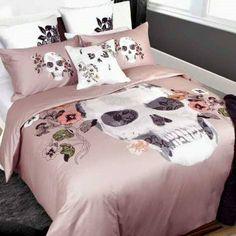Skull Bedroom Decore
