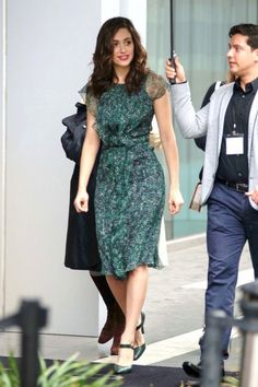 Emmy Rossum is seen on January 10, 2015 in Los Angeles, California.