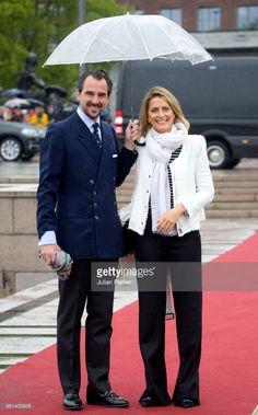 News Photo : Prince Nikolaos of Greece and Princess Tatiana of...