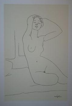 Amedeo Modigliani sketch