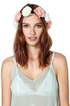 from Tory Burch · Heads Up rose crown - $22 NastyGal. #BestTrendsForever  Put a floral headband in your