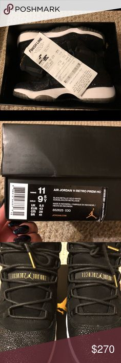 Jordan 11 Heiress 9.5Y=11 Women's Worn twice. Too big. These are limited edition and are sold out everywhere. Please don't low ball because we all know posh charges a fee. Shoes Athletic Shoes