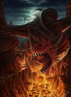 Red dragon, Dragon rojo