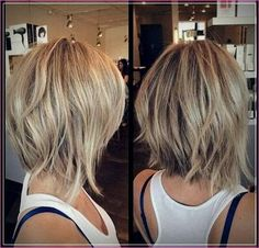 short bob hairstyles back-view-of-short-hairstyles Back View Of Short Layered Haircuts Short Layered Haircuts, Short Hair Cuts, Short Hair Styles, Haircuts For Thin Hair, Haircut Short, Short Hairstyles For Women, Hair Cuts Choppy, Short Trendy Hair, Short Length Hairstyles