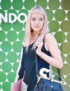 Pink hair short fringe    To get the look, visit us at www.benjaminryanhair.co.uk