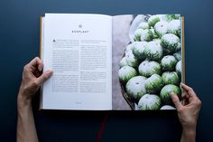 Graphic design and art direction for a South Indian cookbook