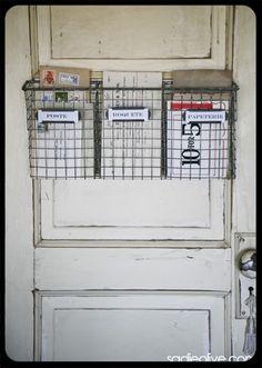 back door-storage baskets