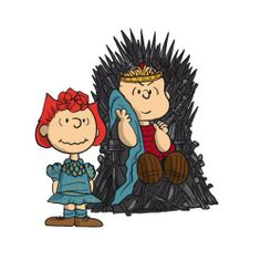 Pop culture mashups and nostalgia art. Snoopy Love, Snoopy And Woodstock, Charlie Brown Peanuts, Peanuts Snoopy, Winter Is Here, Winter Is Coming, Nostalgia Art, Fanart, Game Of Thrones Funny