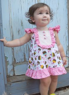 Children's Dress Sewing Pattern