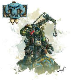 One careful owner. Warhammer 40k Figures, Warhammer Art, Warhammer Fantasy, Warhammer 40000, Warhammer Armies, Ultramarines, Orks 40k, Tyranids, Space Pirate