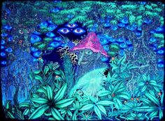 what you want uv Psychedelic Experience, Psychedelic Art, Psy Art, Mushroom Art, Visionary Art, Trippy, Gnomes, Fantasy Art, Artwork