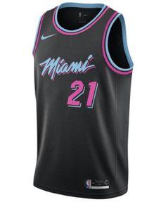 9a1991dd703 Hassan Whiteside Miami Heat City Edition Swingman Jersey 2018