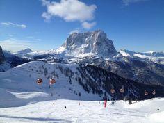 January 2013  Skiing on Dantercepies  Val Gardena Gröden  www.valgardena.it  www.facebook.com/Vgardena