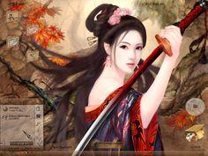 Geisha's Rebellion by ~scubabliss(deviantart) RIP Paul AKA Scubabliss