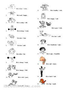 Worksheet Adjective Worksheets Free kid kids worksheets and kindergarten on pinterest adjective for elementary mreichert worksheets