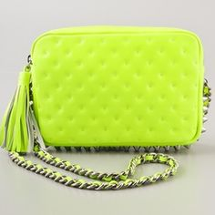 Neon Green Handbags | Luggage And Suitcases