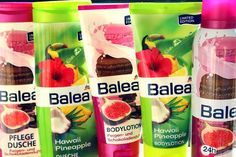 BALEA limited editions: Chocolate & Fig + Hawaii Pineapple | Balea body lotion, shower gel, deodorant