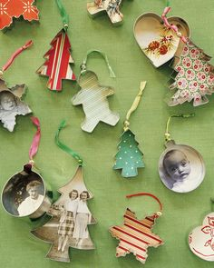 Use inexpensive aluminum cutters to turn out ornaments faster than you can bake a batch of cookies.