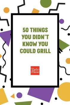 Get the most out of your grill with these unexpected recipes. From apps and sides to non-slab-of-meat suppers and desserts, you're gonna want extra fuel around this summer. Grilled Fruit, Grilled Peaches, Cajun Boil, Tailgating Recipes, Angel Food Cake, Throw A Party, Taste Of Home, Suppers, Knowing You