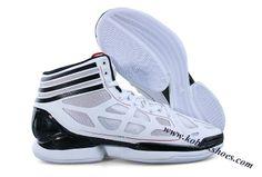 Adidas Adizero Crazy Light Derrick Rose Shoes White Black