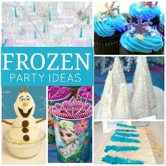 Check out our fabulous Disney Frozen party ideas! See more party ideas at http://CatchMyParty.com