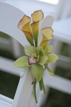 Lee James Floral, Calla Lily, Outdoor Wedding, Wedding, Ceremony Aisle Design