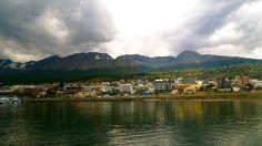 The Beagle Channel in Ushuaia, Tierra del Fuego, Argentina.