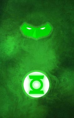 Green Lantern minimalist poster by thelincdesign.