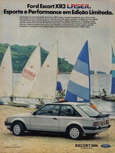 Ford Escort XR3 Laser publicidade Ford Motor Company, Station Wagon, Rolls Royce, Touring, Aston Martin, Verona, Bugatti, Subaru, Volvo