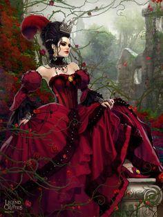 45 New Ideas For Fantasy Art Female Beauty Legends Gothic Fantasy Art, Beautiful Fantasy Art, Fantasy Women, Fantasy Girl, Fantasy Artwork, Beltane, Character Inspiration, Character Art, Mode Glamour