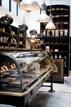 Le Chocolat Alain Ducasse - 40, rue de la Roquette Paris XIème.