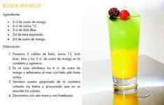 cocteles de colores recetas - Buscar con Google