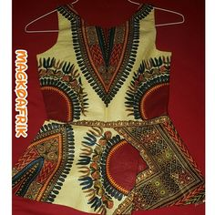Dashiki print peplum top African dashiki material used in creating such an elegant peplum top for ladies Tops Blouses
