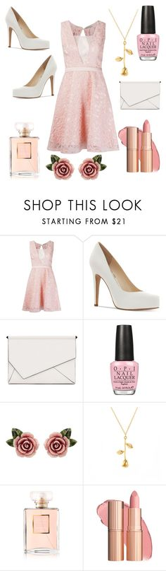 """Party time!"" by agent-butterfly731 ❤ liked on Polyvore featuring Martha Medeiros, Jessica Simpson, Kendall + Kylie, OPI, Dolce&Gabbana and Chanel"