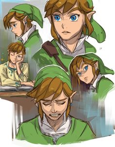 Link has many faces.