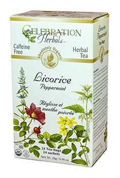 Licorice Peppermint Tea Organic by CelebrationHerbals 24 Bags >>> Read more reviews of the product by visiting the link on the image.
