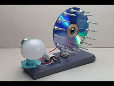 free energy light bulbs generator with magnets _ new project / 2019, at home - YouTube